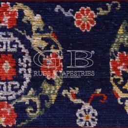 alfombra tibetana antigua
