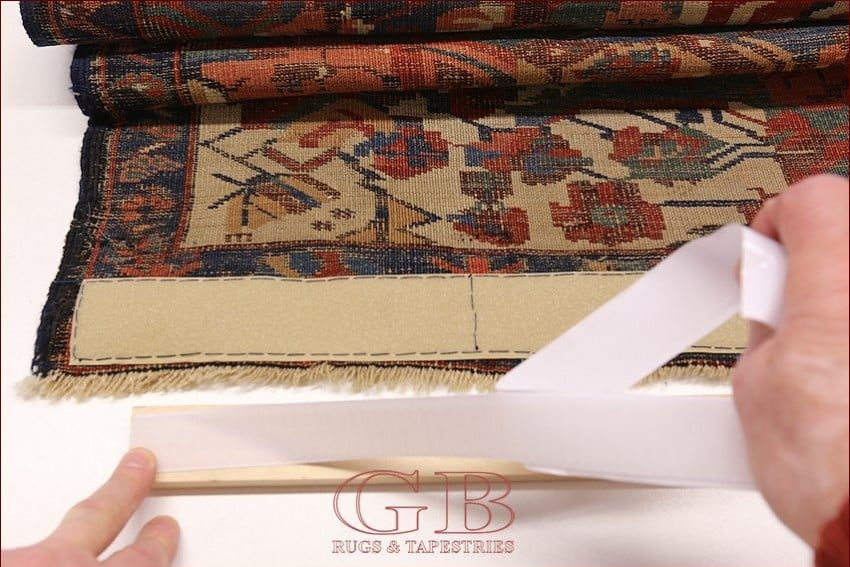 Hang tapestries and carpets methods to hang tapestries for Idee per appendere foto