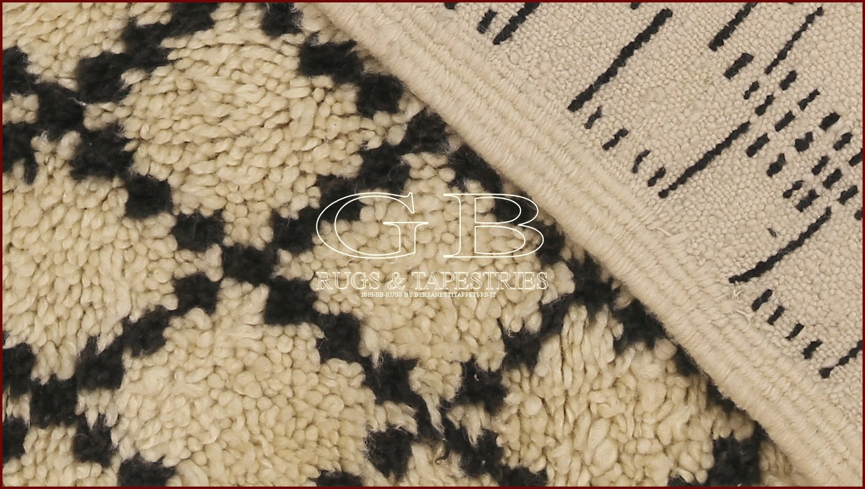 berber teppich beni ourain 340x180 141334666558. Black Bedroom Furniture Sets. Home Design Ideas