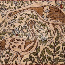 tapis hereke soie
