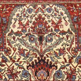 tappeto isfahan antico