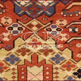 alfombra kazak antiguo