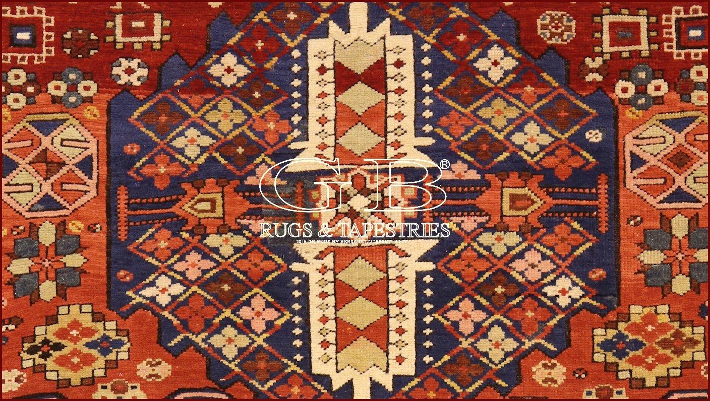 Tapis kazak ancien 270x128 140000000547 - Tapis caucasiens prix ...