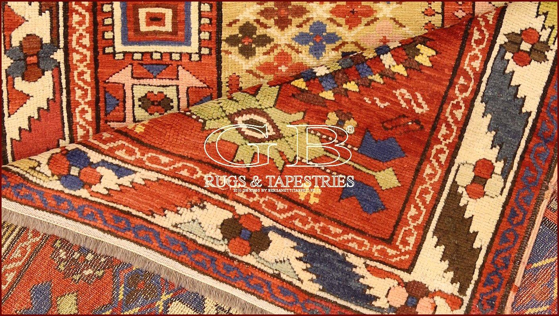 tapis kazak ancien 270x128 140000000547. Black Bedroom Furniture Sets. Home Design Ideas