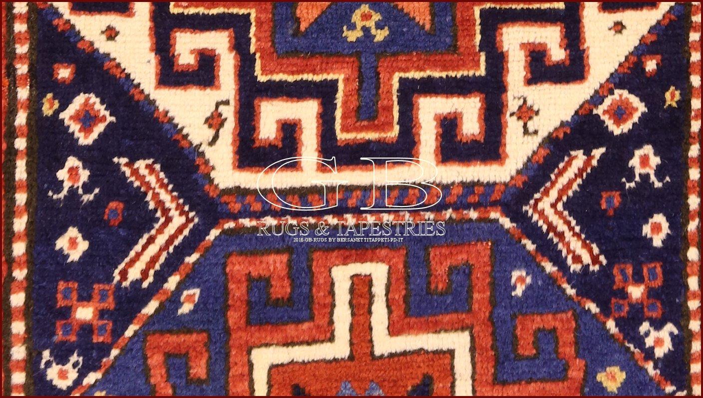 tapis kazak ancien 216x97 140000000311. Black Bedroom Furniture Sets. Home Design Ideas