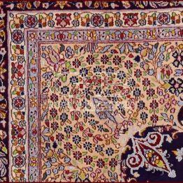 alfombra kirman vieio