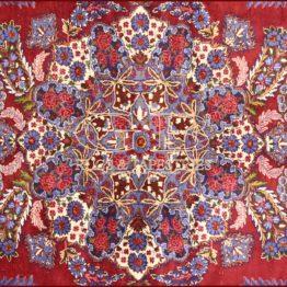 tapis kirman vieux