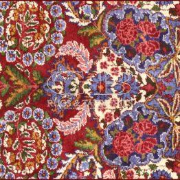alter kirman teppich