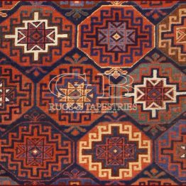 antique moghan rug