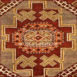 alfombra shirvan antiguo
