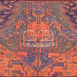alfombra sumak dragones