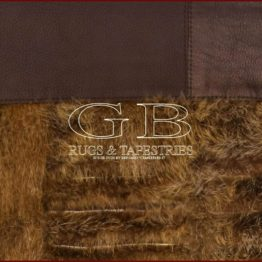 tapis fourrure castor gb collection