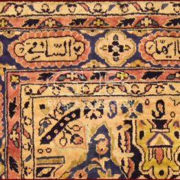 alfombra kashan manchester