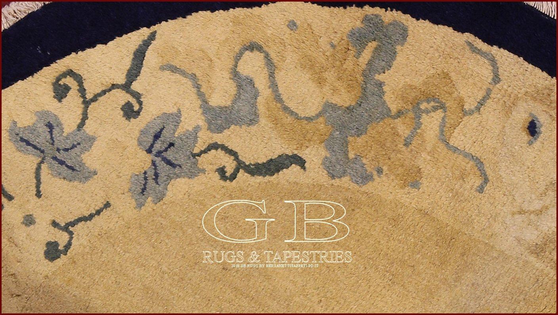 tappeto pechino antico 146x104 141525059048. Black Bedroom Furniture Sets. Home Design Ideas