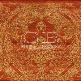 tapis tibétain moderne