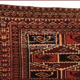 saryk torba turkmenische