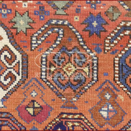 antique gendje rug