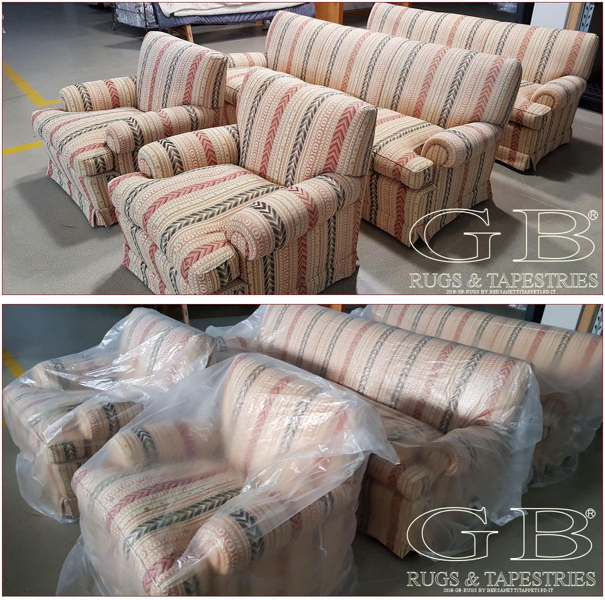 Lavaggio poltrone e divani hai la massima garanzia for Poltrone divani e divani