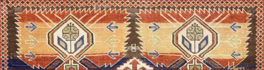 Shirvan Kuba, ancient perfect Caucasian rug with beautiful colors
