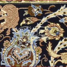 tappeto isfahan con seta