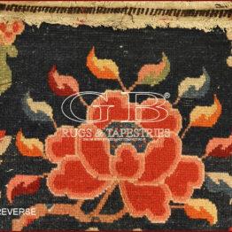 alter tibetischer sattel teppiche