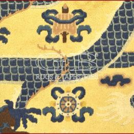 tappeto tibetano antico -coppia